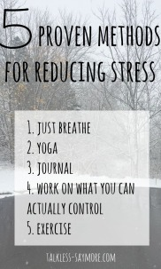 5-stress-reducing-methods