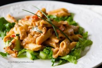 taco pasta salad!